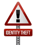 Identity theft road sign